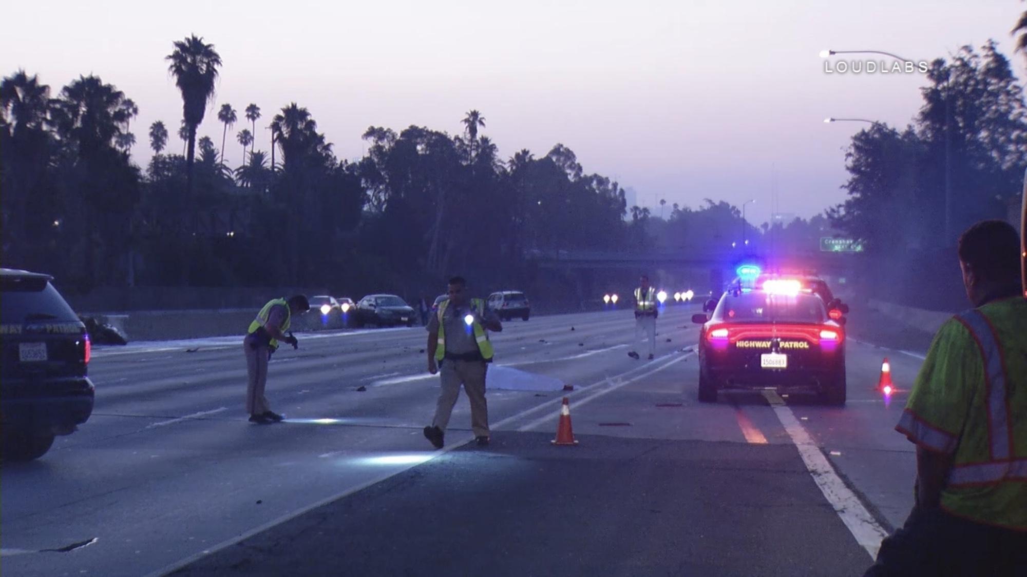 MID CITY: Deadly Freeway Crash Prompts Hours Long