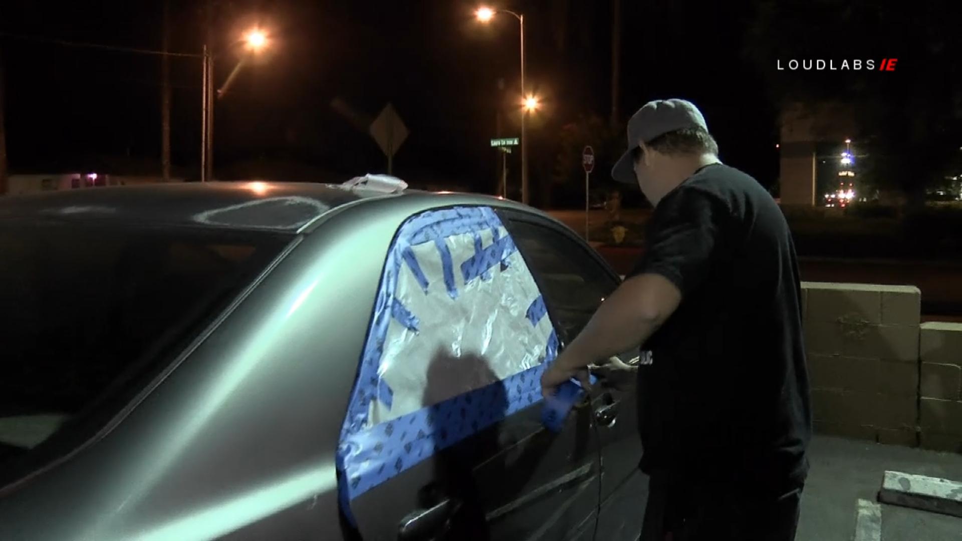 RIVERSIDE: Rocks Tossed Onto Freeway Damage Several Vehicles
