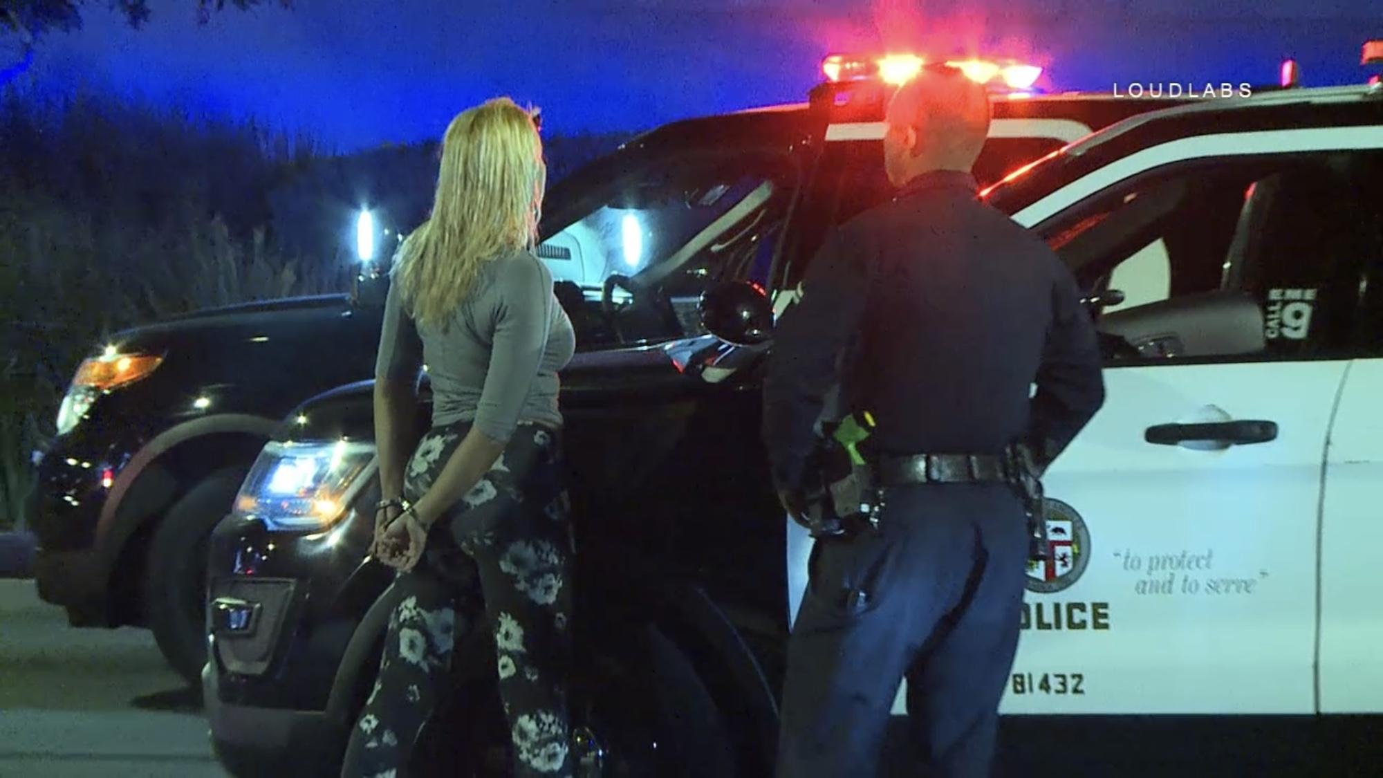 LOS ANGELES: DUI Driver Pursuit Termination | Loudlabs