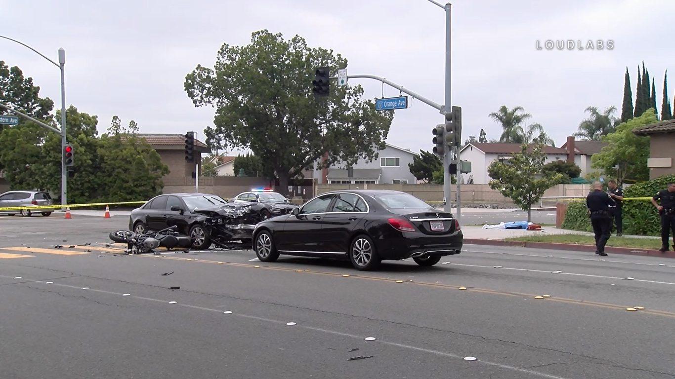 Anaheim: Motorcyclist Killed | Loudlabs