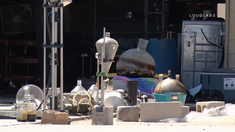 HESPERIA: Possible Drug Lab Hazmat | Loudlabs