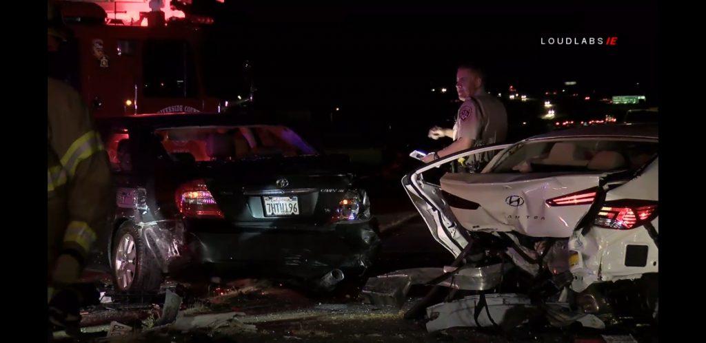 LAKE ELSINORE: 3 Vehicle Crash I-15 SB | Loudlabs